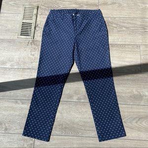 Tommy Hilfiger Blue Polka Dots Pants